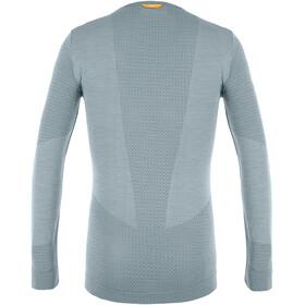 SALEWA Zebru Responsive Langarm T-Shirt Herren flint stone